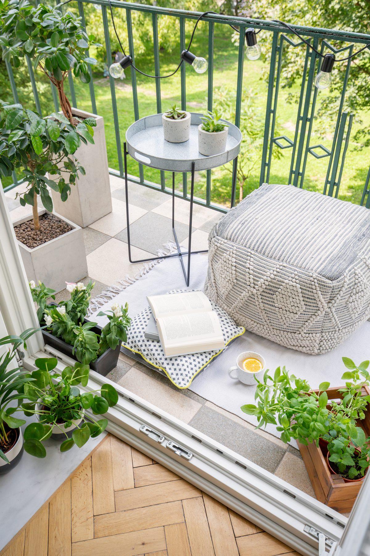 Aménagement terrasse et balcon