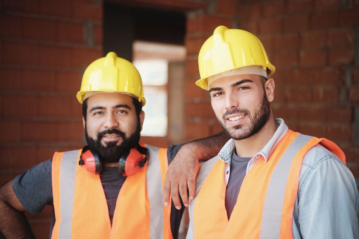 équipe de chantier rénovation